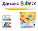 Flamastry BIC Coulour Baby 12kol.